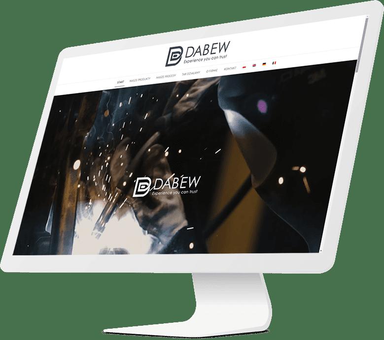 Wizualizacja witryny Dabew od NOXOZ