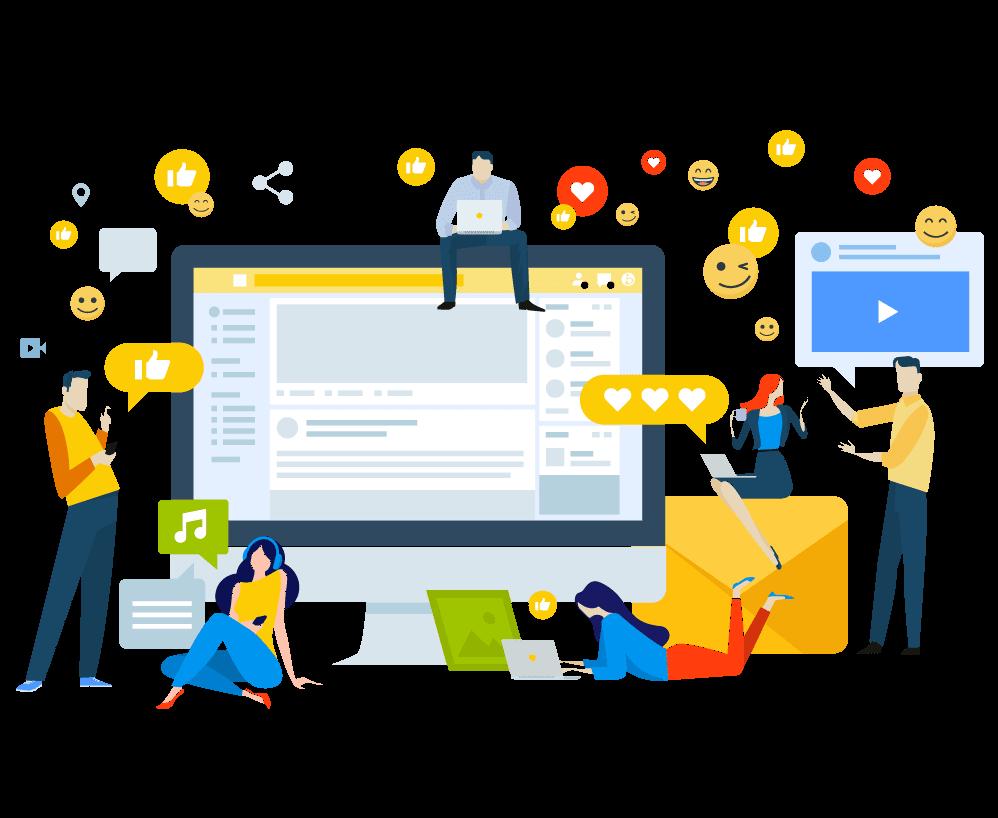Prowadzenie kont społecznościowych w Norwegii AVA Marketing